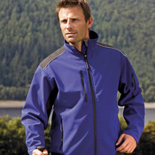 Ripstop softshell workwear jacket