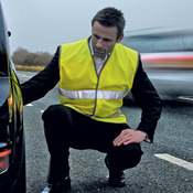Safeguard motorist safety vest