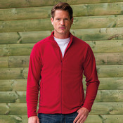 Full zip microfleece