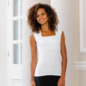 Women's sleeveless stretch top