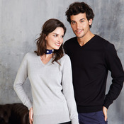 Women's v-neck jumper