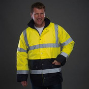 High visibility two-tone motorway jacket (HVP302)