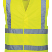 Hi-vis two-band-and-brace vest (C470)