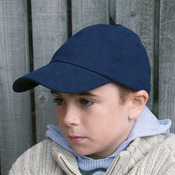Junior low-profile heavy brushed cotton cap